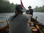 Rowing in the rain